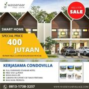 Villa 2 Lantai Baru Bisa Dicicil Tanpa Bank Di Puncak Harga 400jtan (29639957) di Kab. Bogor
