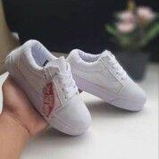 Sepatu Vans Old Skool Kids Full White (29648014) di Kota Tangerang