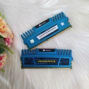 RAM 16GB KIT CORSAIR VENGEANCE 1600MHZ BLUE / HEATSPREADER / LIFETIME (29654053) di Kab. Sleman