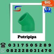 Fitting Ppr Rucika Elbow 45 (29666297) di Kab. Trenggalek