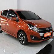 Daihatsu Ayla 1.2 R MT 2018 Orange (29667594) di Kota Bekasi
