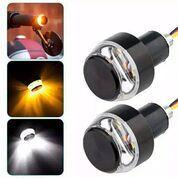 Lampu Stang LED Sepeda Motor Aksesoris Eksterior Otomotif Super Bright (29671622) di Kota Bekasi