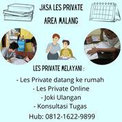 Jasa Les Private Area Malang (29675736) di Kota Malang