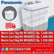 Mesin Cuci Panasonic 7kg 8kg 9kg Garansi Resmi (29685035) di Kota Pekanbaru