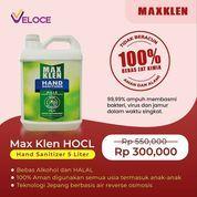 Veloce Max Klen HOCL Hand Sanitizer bisa Anda dapatkan dengan harga spesial untuk ukuran 5 liter (29697011) di Kota Jakarta Selatan