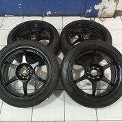 Velg Second Mobil Ring 17+Ban Untuk Avanza Vios Xenia Jazz Yaris Vios City Mazda Sirion (29709211) di Kota Tangerang