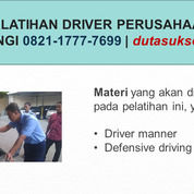 Inhouse Pelatihan Etika Driver Kantor, Profesional Pelatihan Etika Driver Kampus (29712917) di Kota Malang