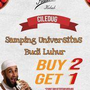 Istanbul kebab turki Pertukangan Ciledug masih promo looh *BUY 2 GET 1* (29721047) di Kota Tangerang