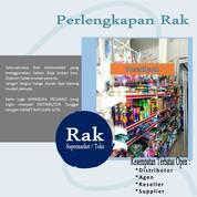 Rak Minimarket Singel Utama, Rak Gudang, Shelving Set Rak Display (29726486) di Kab. Gresik