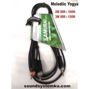 Kabel Jack HP / Laptop 3.5 Mini 2RCA 3M Roxtone (29728882) di Kota Yogyakarta