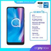 Alcatel 1S Smartphone [ Ram 3GB / Rom 32GB ] Garansi Resmi, Grey. (29730045) di Kota Jakarta Pusat