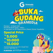 Buka Gudang Gramedia Yogyakarta (29731333) di Kota Yogyakarta