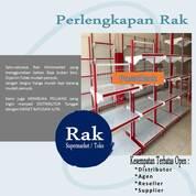 Gondola Display Rak Minimarket, Trolley Supermarket A100, Rak Gudang, Meja Kasir (29732132) di Kab. Aceh Barat