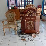 Mimbar Podium Masjid+Kursi (29734922) di Kab. Lampung Tengah