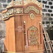 Mimbar Podium Masjid Marbuat (29734934) di Kab. Lampung Tengah