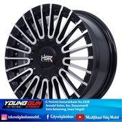 Velg Racing HSR AMARASI RING 15 BLACK POLISH Pelek Mobil Spin Swift Datsun Go Freed Picanto Avanza (29739772) di Kota Semarang