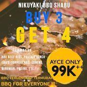 Nikuyaki BBQ Shabu PROMO ALERT Buy 3 Get 4 !! (29752564) di Kota Jakarta Utara