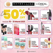 Feliz Kosmetik Promo Discount Up To 50% (29755930) di Kota Banjarmasin