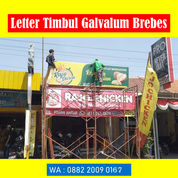 Letter Timbul Galvalum Brebes (29757081) di Kab. Brebes