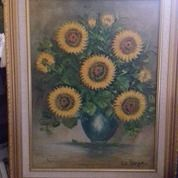 Lukisan Kanvas Tema Bunga Matahari (29766792) di Kota Jakarta Selatan