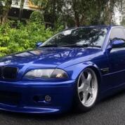 BMW E46 325i AT Tahun 2001 Full Modifikasi Low KM (29774752) di Kota Jakarta Selatan