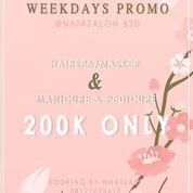 NATA Nails & Salon WEEKDAYS PROMO (29775435) di Kota Tangerang