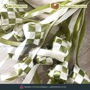 Ketupat Pita / Hiasan Lebaran / Ketupat Mini / Replika Ketupat Pita / Dekorasi Idul Fitri (29777975) di Kab. Sidoarjo