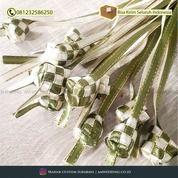 Ketupat Pita / Hiasan Lebaran / Ketupat Mini / Replika Ketupat Pita / Dekorasi Idul Fitri (29778022) di Kab. Sidoarjo