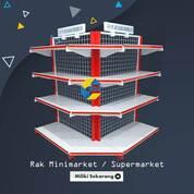 Display Gondola Minimarket Rak, Meja Kasir (29779909) di Kota Gorontalo