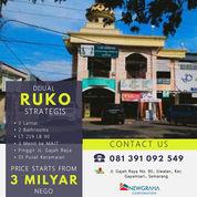 Ruko 2 Lantai Strategis Dekat Masjid Agung Jawa Tengah (29784617) di Kota Semarang