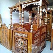 Mimbar Masjid Kubah T-38 (29787598) di Kab. Rokan Hilir
