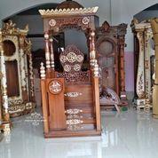 Mimbar Podium Masjid Kubah (29787607) di Kab. Rokan Hilir