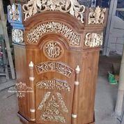 Mimbar Podium Masjid + Kursi (29787624) di Kab. Rokan Hilir