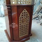 Mimbar Podium Masjid Minimalis (29787631) di Kab. Rokan Hilir