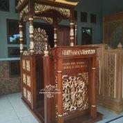 Mimbar Masjid Kubah Atap (29787651) di Kab. Rokan Hilir