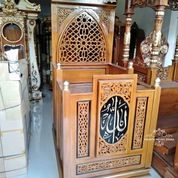 Mimbar Masjid Minimalis Terbaru (29787739) di Kab. Rokan Hilir