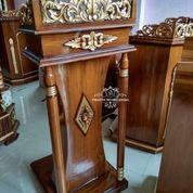 Podium Mimbar Pidato Ceramah Masjid (29787780) di Kab. Rokan Hilir