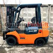 Toyota 2.5 Ton Standard Lift Mast Forklift Second (29789789) di Kota Jakarta Utara