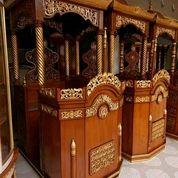 Mimbar Masjid Kubah Atab (29804975) di Kab. Pringsewu