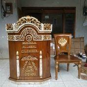 Mimbar Masjid Podium Plus Kursi (29805914) di Kab. Lampung Barat