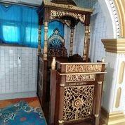 Mimbar Masjid Kubah Soko Ukir (29805943) di Kab. Lampung Barat