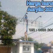 Harga Huruf Timbul Acrylic 2020 Slawi (29812130) di Kab. Tegal