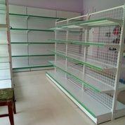 Rak Supermarket / Rak Minimarket / Rak Display /Rak Murah Double (29813455) di Kab. Bondowoso