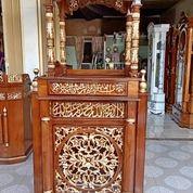 Mimbar Masjid Kubah (29850347) di Kab. Rokan Hilir