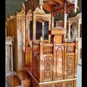 Mimbar Khutbah Masjid Kreto Kayu Jati (29850362) di Kab. Rokan Hilir