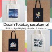 Tote Bag Sablon Blacu/Drill (Tas Belanja/Goodie Bag/Totebag) Denpasar (29852210) di Kota Denpasar