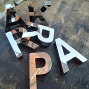 Jasa Pembuatan Huruf Timbul Stainless Padang Sidempuan (29854559) di Kota Pangkal Pinang