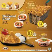 A&W Promo Weekend Deals !! (29855162) di Kota Jakarta Selatan