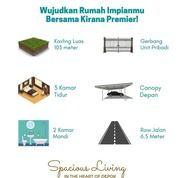 Rumah Murah Modern Minimalis Dekat Stasiun Tol Cimanggis Tanpa Dp 0% (29858342) di Kota Depok