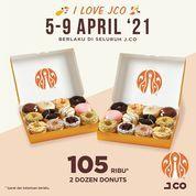 JCO Donuts & Coffee Nikmati 5 Hari Promo JCO Di Seluruh JCO Indonesia (29860988) di Kota Jakarta Selatan